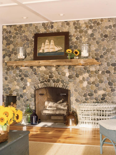 Creative Decoration of Driftwood Mantels | HomesFeed