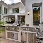 adorable cool awesome nice houzz outdoor kitchen design with Modern-Cabinets-and-Accessories-in-Modern-Outdoor-Kitchen-Designs-Ideas