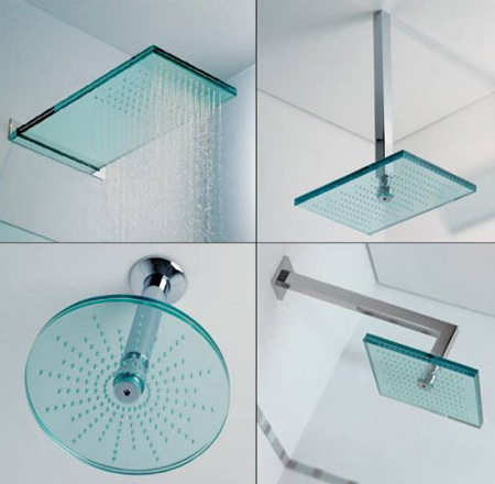 modern design of cool shower heads for bathroom | homesfeed