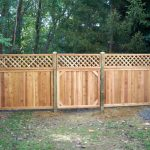 adorable-cool-wonderful-ncie-fantastic-cool-awesome-lattice-fence-design-with-Tongue-groove-lattice-desing-concept-wooden-made-design-for-small-garden