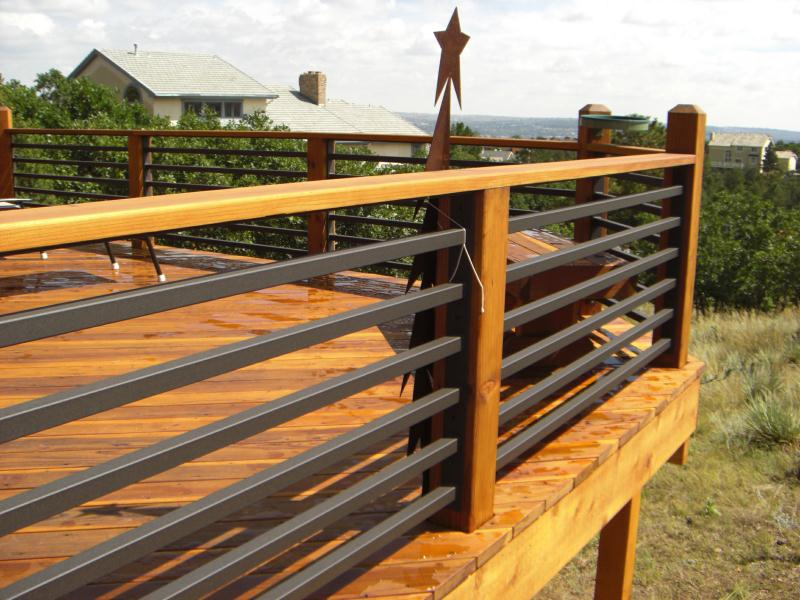 Nice Concept And Design Of Horizontal Deck Railing For Home Homesfeed