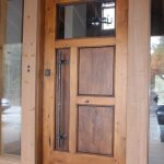 adorable nice eclectic-entry wonderful cool amazing awesome cool front door idea with original wooden design concept with small glass window