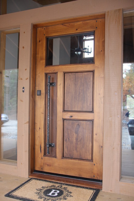Front Doors on create a rustic kitchen design with the help of