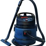 adorable nice modern cool wonderful vacuum cleaner produced by bosch with green accent and has long pipe with black color