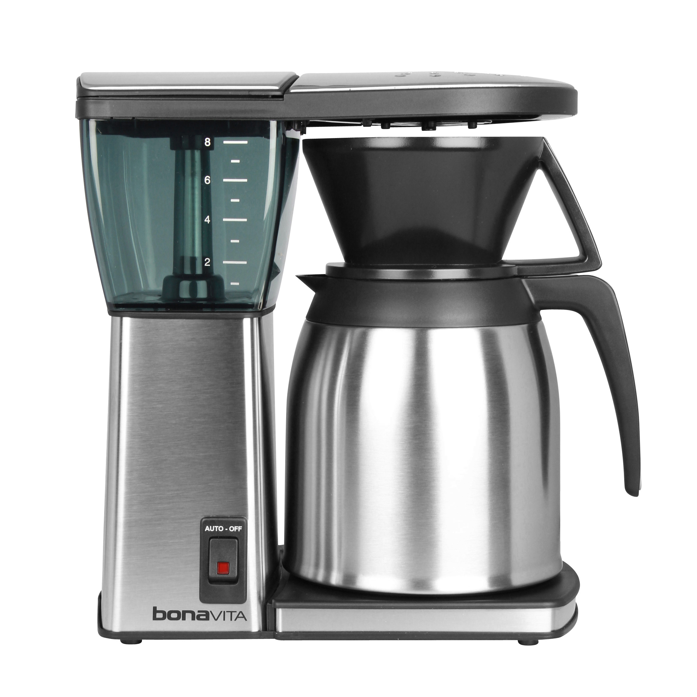 the best choice of modern coffee maker  homesfeed - adorable nice modern metal made wonderful idea bonavita thermal coffee makerwith nice large design with