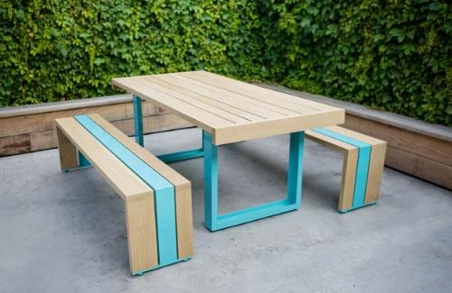 Merveilleux Adorable Nice Wonderful Cool Amazing Creative Cool Picnic Table With  White Oak Table