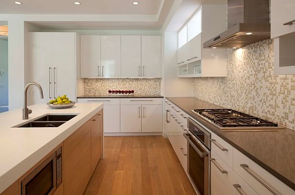 Awesome concept and design of modern kitchen cabinet for Nice modern kitchens