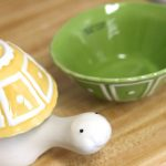 amazing cool adorable fantastic nice unique measuring cup  with turtle shaped concept design with green and yellow cup design