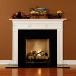 Amazing Nice Modern Cool Wonderful Fireplace Mantel Idea With Awesome White Accent Made Of Wood Fireplace Frame Design With Nice Design