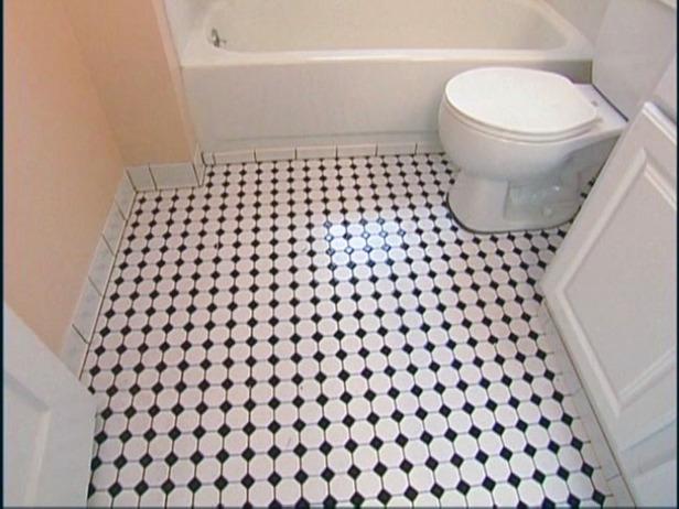 The best concept of honeycomb floor tile design homesfeed for Small vinyl floor tiles