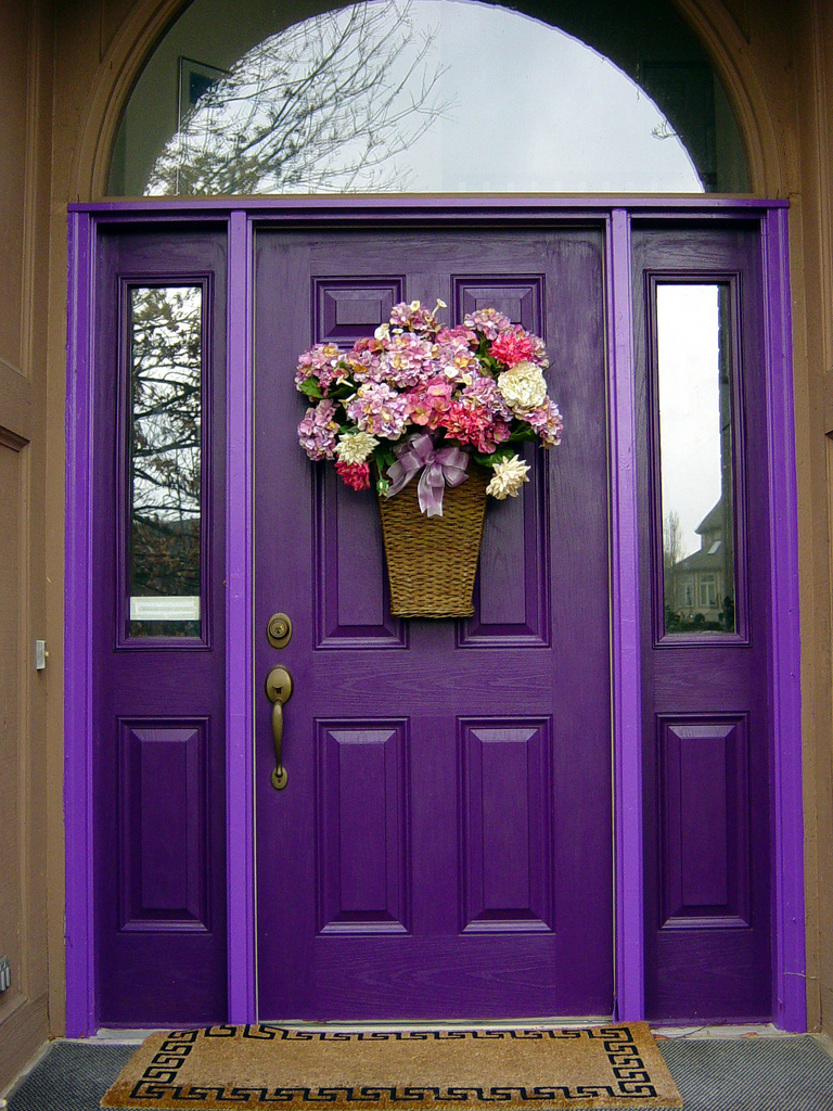 The Best Choice of Cool Front Doors for You - HomesFeed