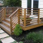 amazing nice wonderful cool fantastic cool horizontal deck railing with with all wooden made flooring and deck design