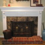 attractive nice adorable cool wonderful fantastic fireplace mantel idea with white wooden frame with wooden mantel design