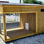 awesome nice adorable cool wonderful fantastic dog house idea with large design with wooden made concept and has metal border