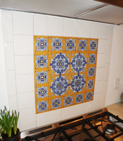 Spanish Tile Backsplash: Best Choice for Creating Mexican