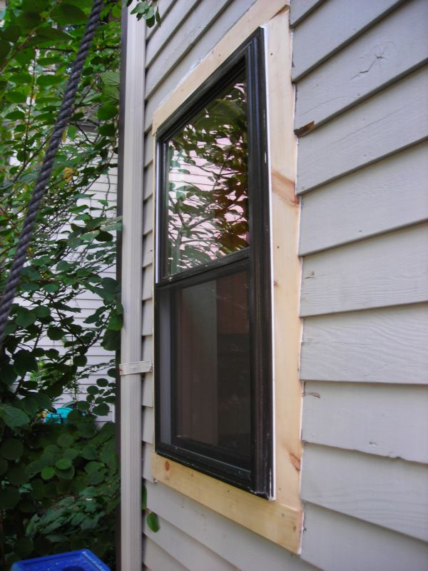 How to trim a window exterior home design for Elegant windows