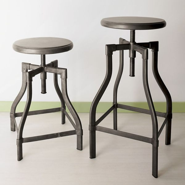 Unique Barstools Colorize Your Cooking Corner Homesfeed