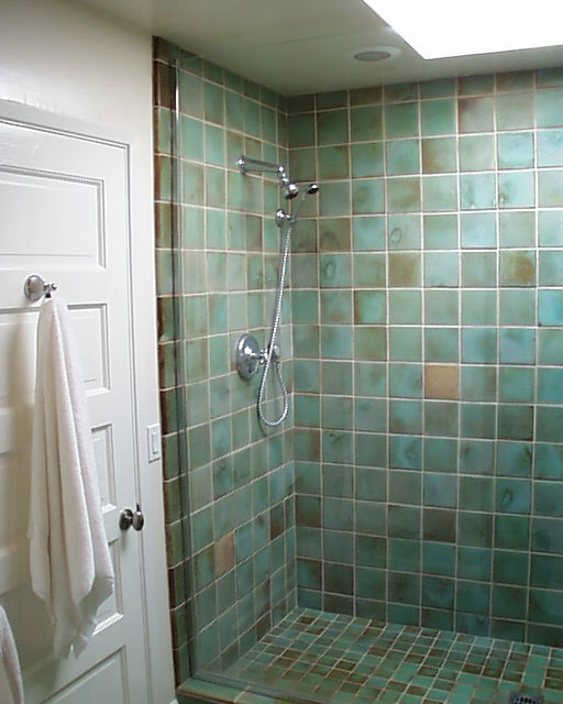 Tiled shower stalls create distinctive and stylish shower zone homesfeed Tile shower stalls