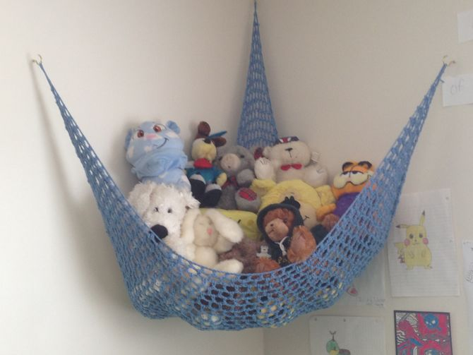Hanging Stuffed Animal Storage Organizers Homesfeed