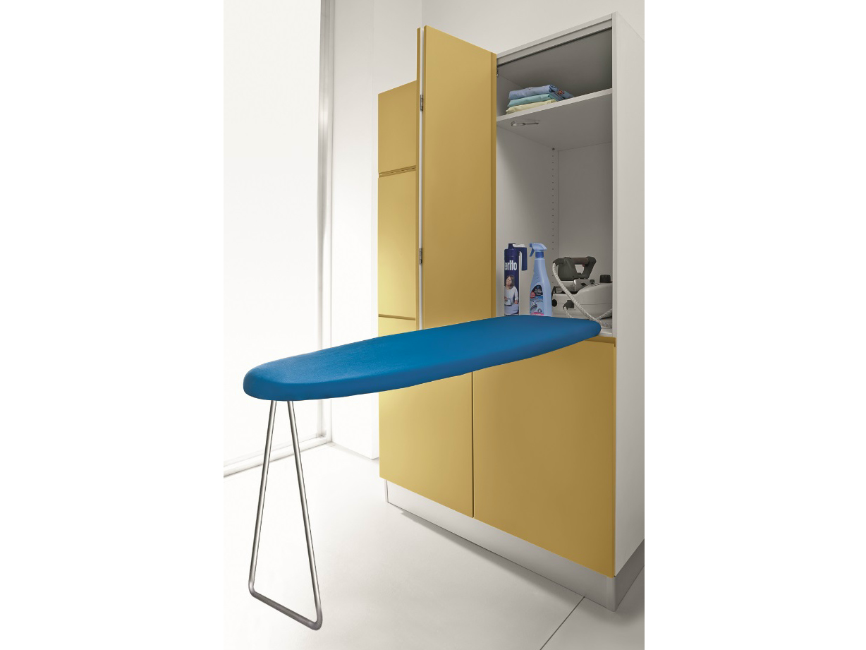 Ironing board storage cabinet a practical way of for Table a repasser