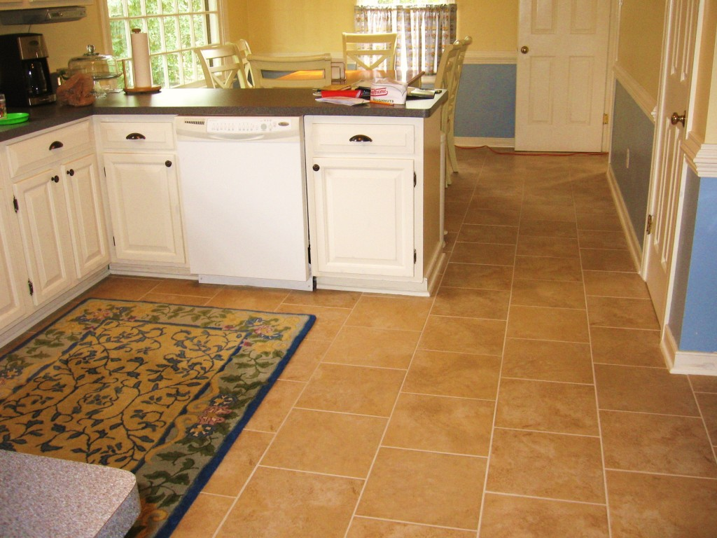 Vinyl Flooring In Kitchen. Kitchen With Multitoned Sheet Vinyl ... - ^