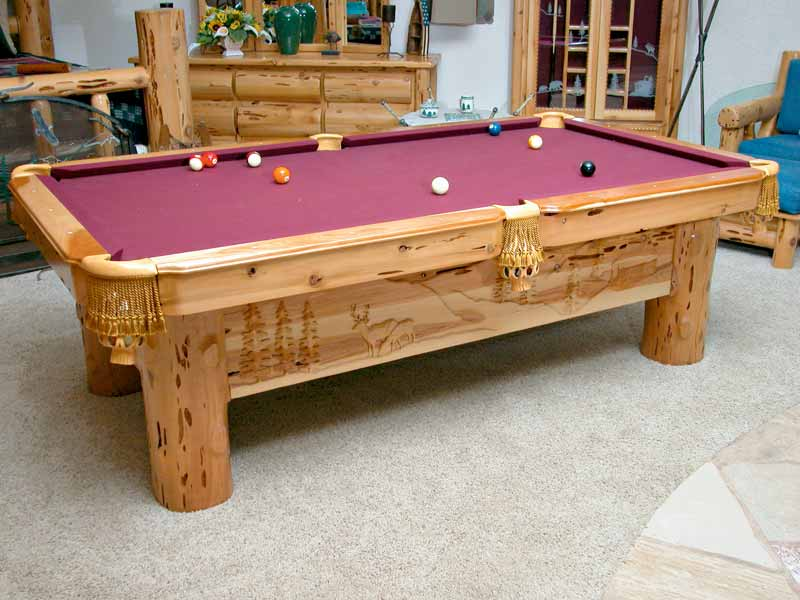 Pool Table A Decorative Furniture As Well As Hobby Facility HomesFeed - Handmade pool table