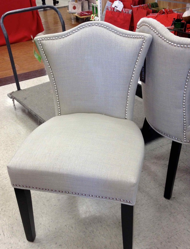 Superieur Casual But Luxurious Soft Grey Reading Chair Designed By Cynthia Rowley