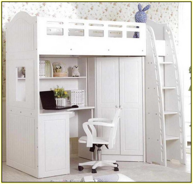 casual white loft bed with desk and cupboard portable chair floating bookcase beautiful wallpaper installation bunk for adults r68 for