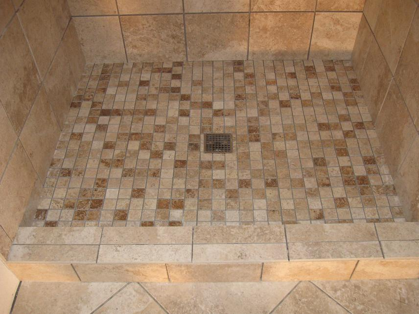Tiled shower stalls create distinctive and stylish shower - How to install ceramic tile on wall ...