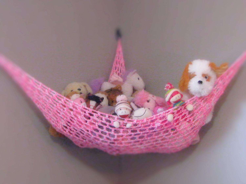 Hanging Stuffed Animal Storage Organizers Homesfeed