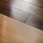 clear-lines wood floor to darker wood planks floor