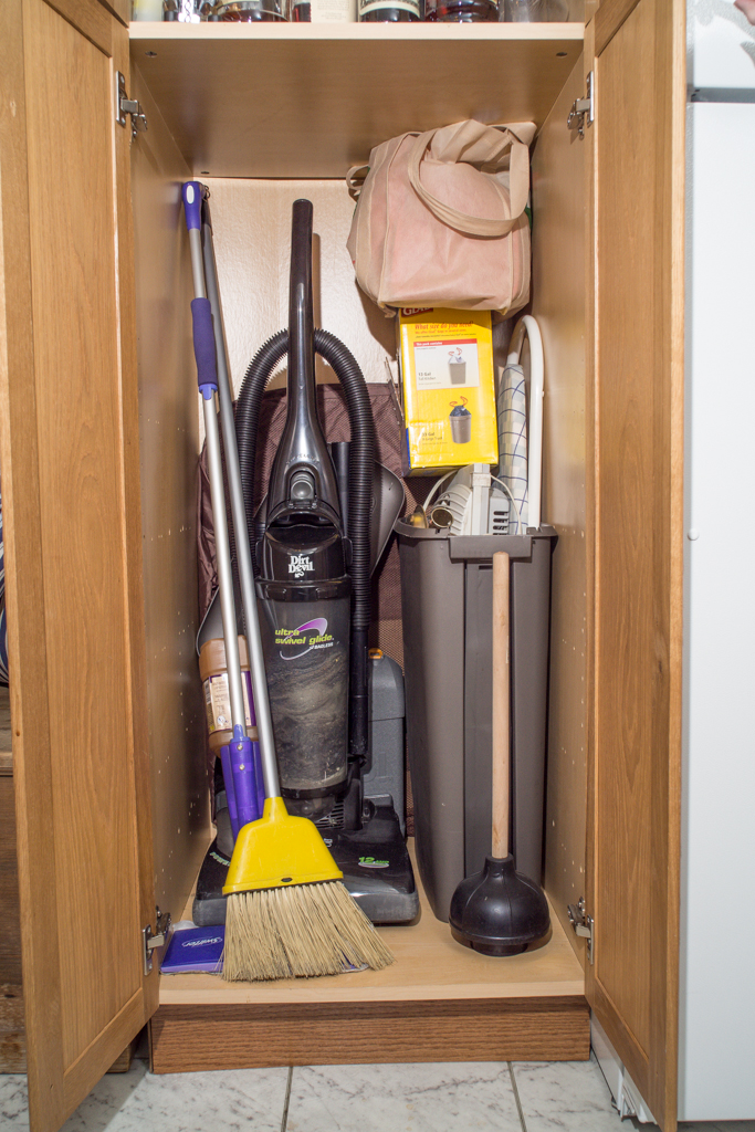 Broom Closet Cabinet Kitchen