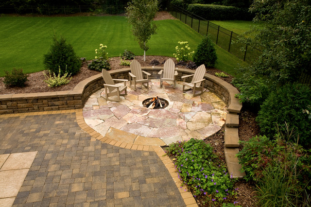 how to build an outdoor inground fire pit