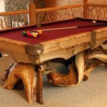 cool adorable nice classi traditional fantastic awesome unique pool table  with Rustic-Pool-Table concept wooden made design