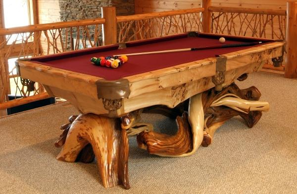 Cool Adorable Nice Classi Traditional Fantastic Awesome Unique Pool Table  With Rustic Pool Table