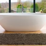 Cool Amazing Modern And Classic Adorable Elegant Adorable Victoria And Albert Tub With Bowl Concept With Granite Made Design And Wooden Flooring