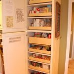 cool amazing nice modern fantastic cool pull out pantry with white wooden accent coloring idea for modern kitchen design