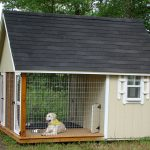 cool amazing nice wonderful cool awesome dog house idea with large concept with wooden flooring and has metal railing border