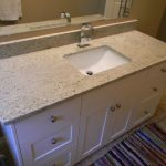cool classic nice adorablea amazing ashmere white granite with small flotaing bathroom cabinet design and has small sink