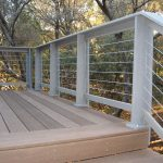 cool idea nice wonderful amazing awesome horizontal deck railing with with wooden flooring with metal deck design