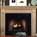Cool Modern Nice Adorable Antique Nice Wonderful Fireplace Mantel Idea With Wooden Fireplace Frame Design Brown Accent With Nice Mantel