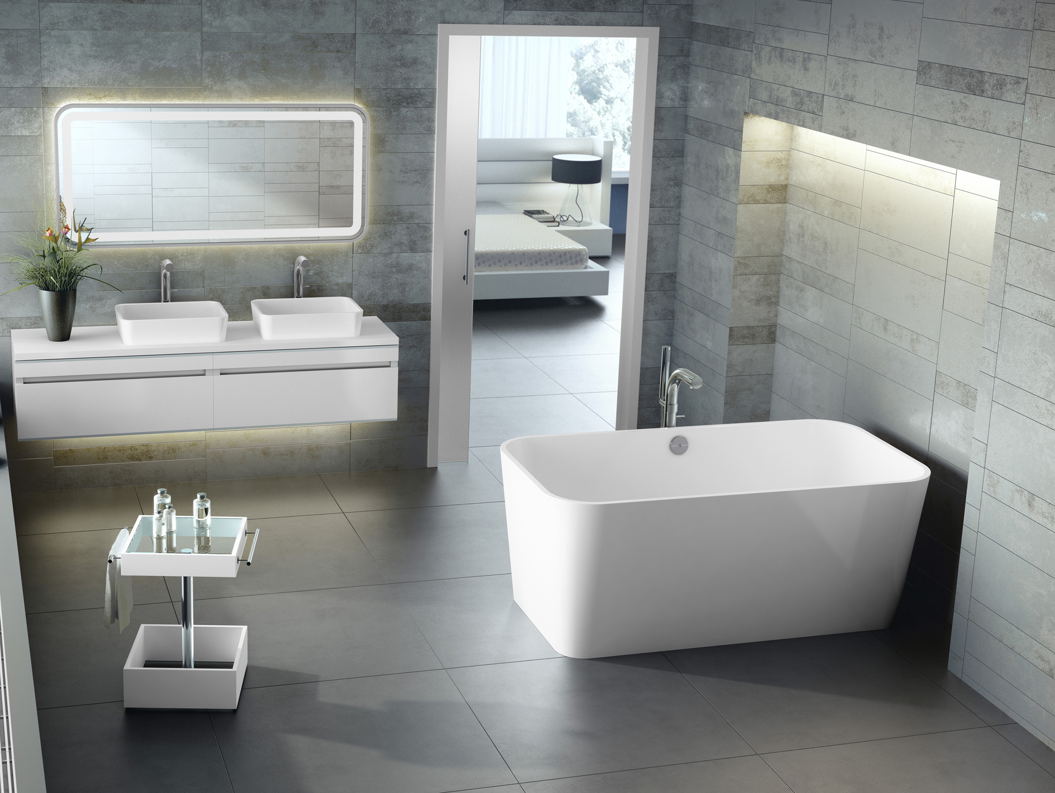 Modern Design of Victoria and Albert Tubs for Your Bathroom | HomesFeed