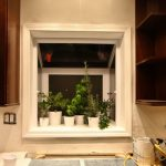 cool simple nice wonderful cool amazing garden windows for kitchen with white wooden made concept design and has nice cool decoration