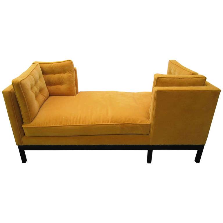 Cozy Tete A Tete Furniture In Yellow Tone