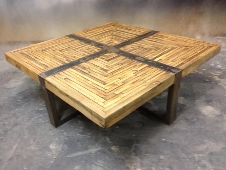 Creative idea of butcher block coffee table homesfeed for Small block coffee table