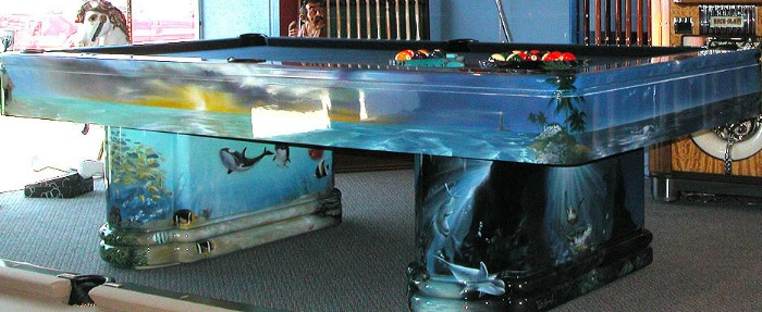 Wonderful Unique Pool Table Design | HomesFeed