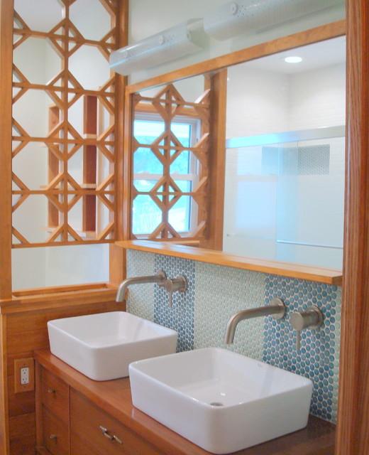 Mid Century Modern Bathroom Vanity Ideas: Cool And Amazing Bathroom Remodeling Mid Century