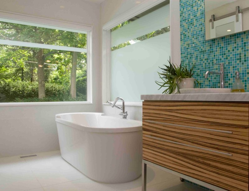 Cool and amazing bathroom remodeling mid century homesfeed for Bathroom remodel seattle