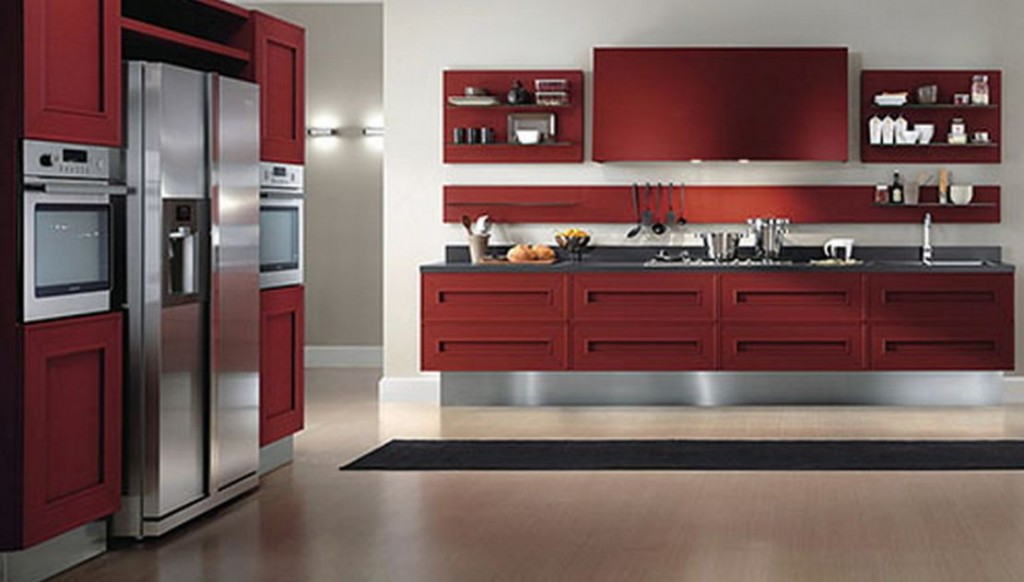 Awesome concept and design of modern kitchen cabinet for Modern kitchen furniture images