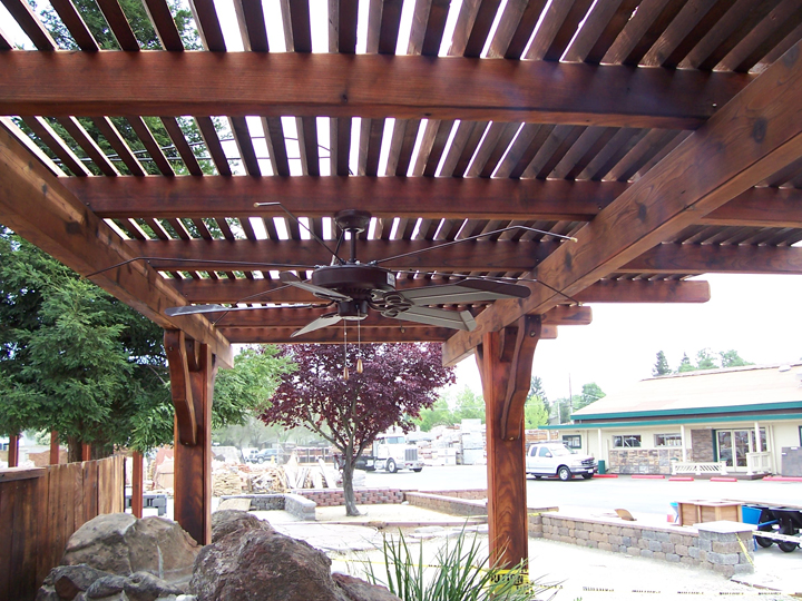 home garden and patio wooden patio covers give high aesthetic